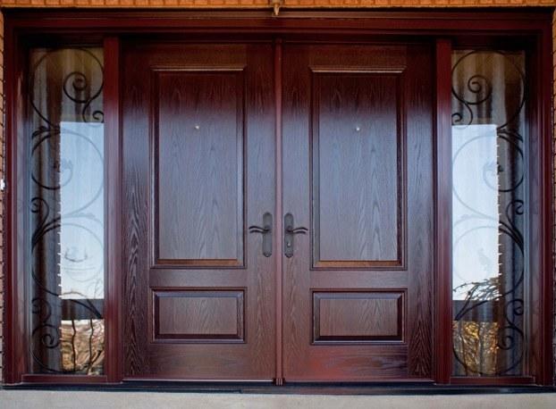 Zunanja lesena vrata