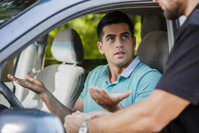Neprimerno vozilo - kazen