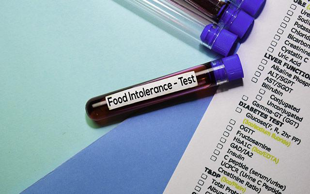 Test intolerance na hrano